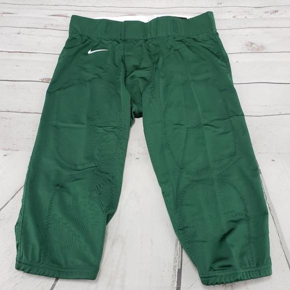 Nike Pants Size XL Mens Football Pants Green New